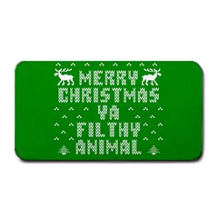 Ugly Christmas Ya Filthy Animal Medium Bar Mats