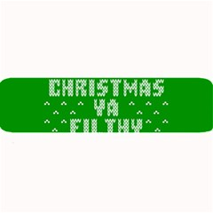 Ugly Christmas Ya Filthy Animal Large Bar Mats
