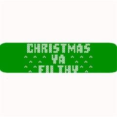 Ugly Christmas Ya Filthy Animal Large Bar Mats