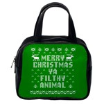 Ugly Christmas Ya Filthy Animal Classic Handbags (One Side) Front