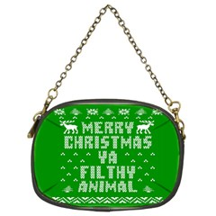Ugly Christmas Ya Filthy Animal Chain Purses (Two Sides)