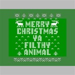 Ugly Christmas Ya Filthy Animal Mini Canvas 6  x 4  6  x 4  x 0.875  Stretched Canvas
