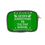 Ugly Christmas Ya Filthy Animal Coin Purse Back
