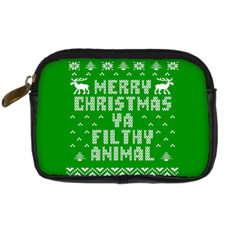 Ugly Christmas Ya Filthy Animal Digital Camera Cases