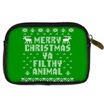 Ugly Christmas Ya Filthy Animal Digital Camera Cases Back