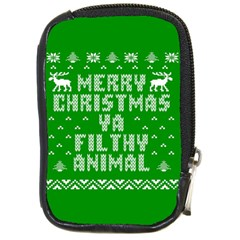 Ugly Christmas Ya Filthy Animal Compact Camera Cases