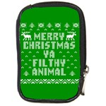 Ugly Christmas Ya Filthy Animal Compact Camera Cases Front