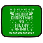 Ugly Christmas Ya Filthy Animal Netbook Case (XXL)  Front