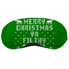 Ugly Christmas Ya Filthy Animal Sleeping Masks