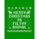 Ugly Christmas Ya Filthy Animal Large Memo Pads 4.125 x5.5  Memopad