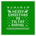 Ugly Christmas Ya Filthy Animal Small Memo Pads 3.75 x3.75  Memopad