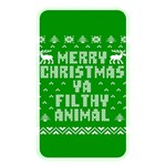 Ugly Christmas Ya Filthy Animal Memory Card Reader Front
