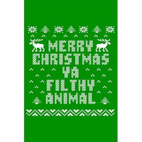 Ugly Christmas Ya Filthy Animal 5.5  x 8.5  Notebooks