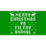 Ugly Christmas Ya Filthy Animal Magic Photo Cubes Long Side 2