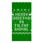 Ugly Christmas Ya Filthy Animal Shower Curtain 36  x 72  (Stall)  36 x72 Curtain