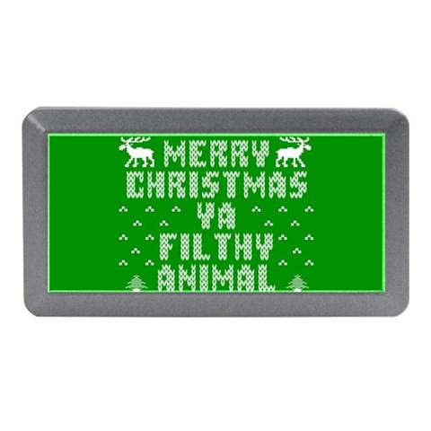 Ugly Christmas Ya Filthy Animal Memory Card Reader (Mini)