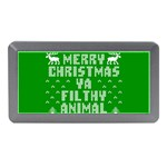 Ugly Christmas Ya Filthy Animal Memory Card Reader (Mini) Front