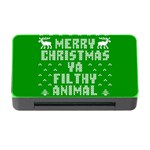 Ugly Christmas Ya Filthy Animal Memory Card Reader with CF Front