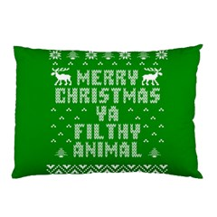 Ugly Christmas Ya Filthy Animal Pillow Case (two Sides)