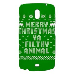 Ugly Christmas Ya Filthy Animal Samsung Galaxy Nexus i9250 Hardshell Case