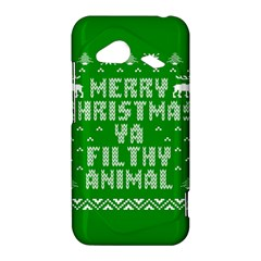 Ugly Christmas Ya Filthy Animal HTC Droid Incredible 4G LTE Hardshell Case