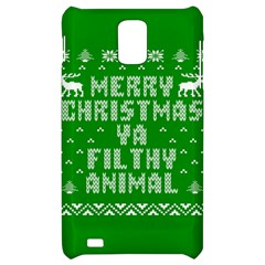 Ugly Christmas Ya Filthy Animal Samsung Infuse 4G Hardshell Case