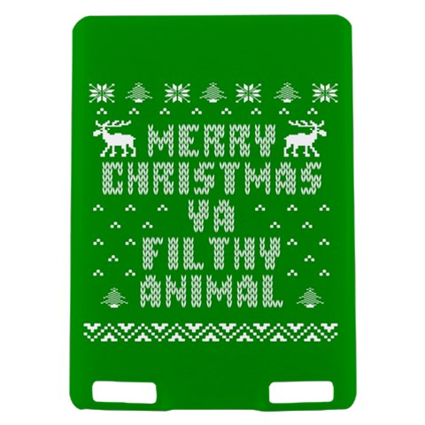 Ugly Christmas Ya Filthy Animal Kindle Touch 3G