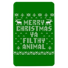 Ugly Christmas Ya Filthy Animal Kindle Fire (1st Gen) Hardshell Case
