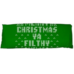 Ugly Christmas Ya Filthy Animal Body Pillow Case Dakimakura (Two Sides)