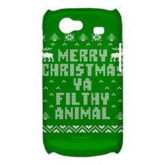 Ugly Christmas Ya Filthy Animal Samsung Galaxy Nexus S i9020 Hardshell Case