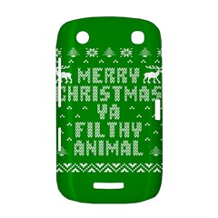 Ugly Christmas Ya Filthy Animal BlackBerry Curve 9380