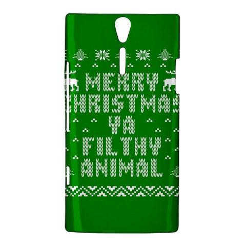 Ugly Christmas Ya Filthy Animal Sony Xperia S