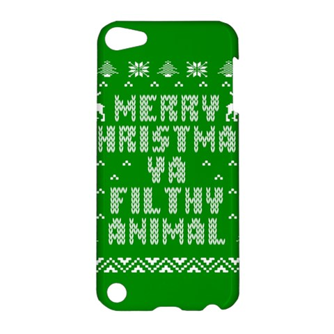 Ugly Christmas Ya Filthy Animal Apple iPod Touch 5 Hardshell Case