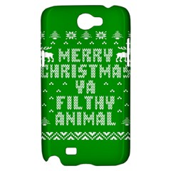 Ugly Christmas Ya Filthy Animal Samsung Galaxy Note 2 Hardshell Case