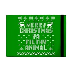 Ugly Christmas Ya Filthy Animal Apple iPad Mini Flip Case