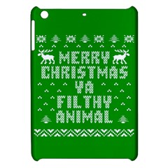 Ugly Christmas Ya Filthy Animal Apple iPad Mini Hardshell Case