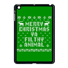 Ugly Christmas Ya Filthy Animal Apple iPad Mini Case (Black)