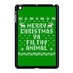 Ugly Christmas Ya Filthy Animal Apple iPad Mini Case (Black) Front