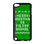 Ugly Christmas Ya Filthy Animal Apple iPod Touch 5 Case (Black) Front