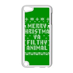 Ugly Christmas Ya Filthy Animal Apple Ipod Touch 5 Case (white)