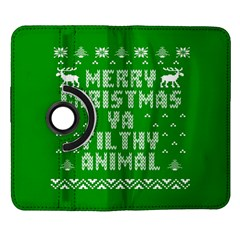 Ugly Christmas Ya Filthy Animal Samsung Galaxy Note II Flip 360 Case