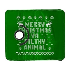 Ugly Christmas Ya Filthy Animal Samsung Galaxy S  III Flip 360 Case
