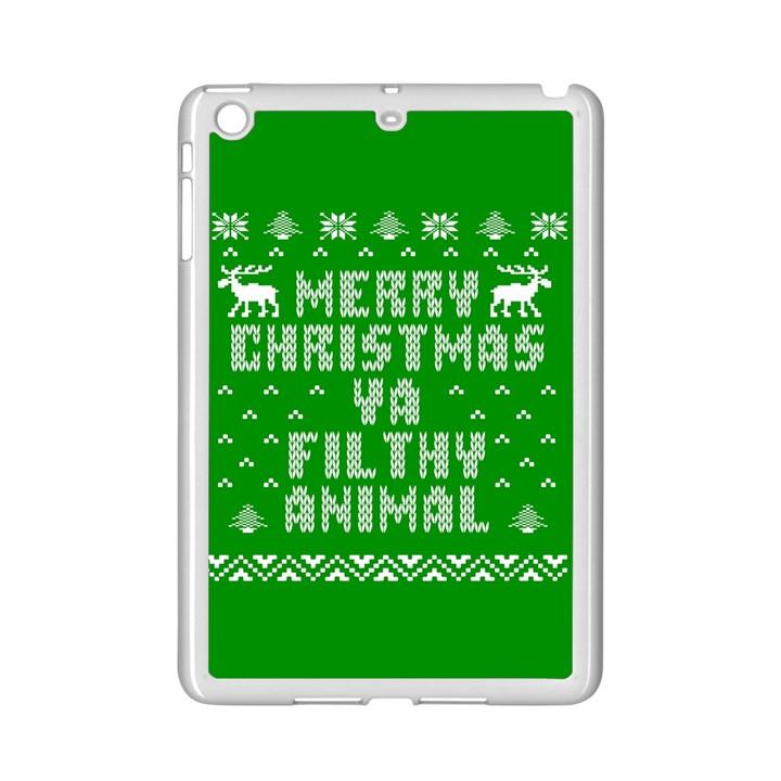 Ugly Christmas Ya Filthy Animal iPad Mini 2 Enamel Coated Cases