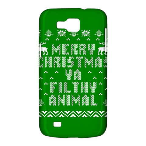 Ugly Christmas Ya Filthy Animal Samsung Galaxy Premier I9260 Hardshell Case