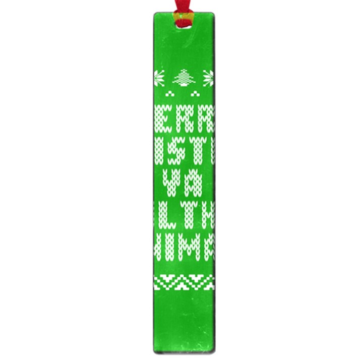 Ugly Christmas Ya Filthy Animal Large Book Marks