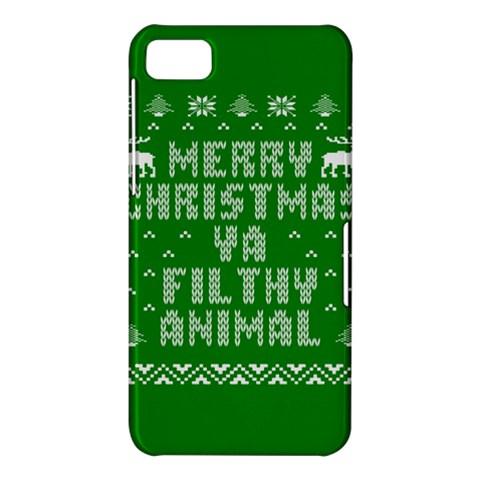 Ugly Christmas Ya Filthy Animal BlackBerry Z10