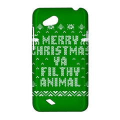 Ugly Christmas Ya Filthy Animal HTC Desire VC (T328D) Hardshell Case