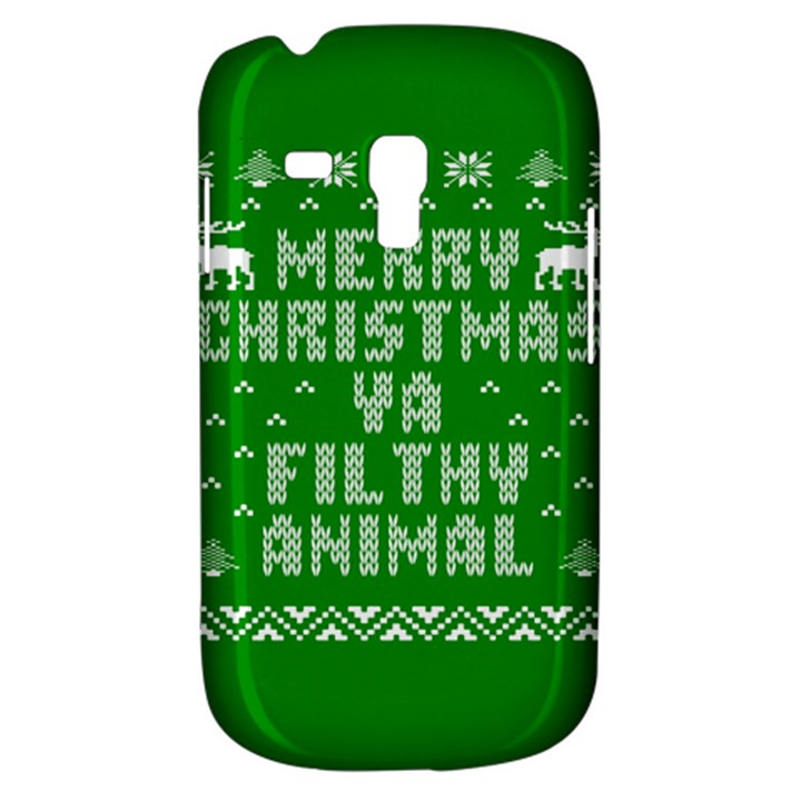 Ugly Christmas Ya Filthy Animal Samsung Galaxy S3 MINI I8190 Hardshell Case