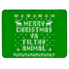 Ugly Christmas Ya Filthy Animal Samsung Galaxy Tab 7  P1000 Flip Case