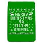 Ugly Christmas Ya Filthy Animal Flap Covers (L)  Front